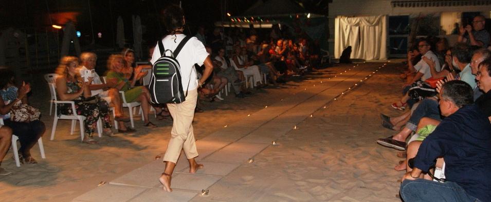 Eco Fashion Show Backpack