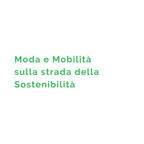 moda e mobilità