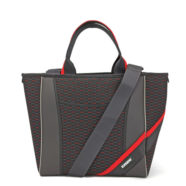 shopping bag nera sportiva